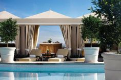 Rooftop Pool Cabana: Pictures of the Montage Beverly Hills