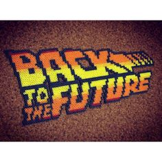 Back to the Future perler beads by kazoo_55