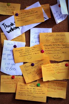 gratitude board-have hanging up at camp?