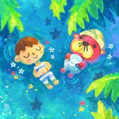 Animal Crossing Fan Art, Animal Crossing Villagers, Animal Crossing Pocket Camp, Nintendo, Folk, Cute Art, Art Inspo, Cute Pictures, Cute Animals