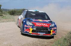 Citroen DS3 WRC rally car