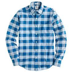 Thomas Mason® Archive for J.Crew slim shirt in 1886 check