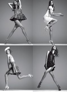Figure Drawing, Pose  Steven Meisel, Vogue Italia