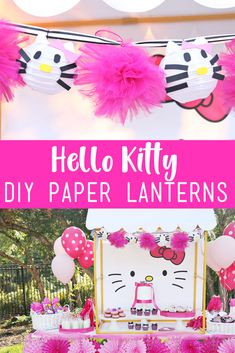 Hello Kitty DIY Pape