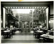 Horn & Hardart faced stiff competition from the rise of the fast food industry.  Some of the Automats were converted to Burger Kings and Arby's as part of the company's holdings. On April 8, 1991, the last of New York City's automats closed on 200 East 42nd Street.  (PHOTO:  Opened Tues. Oct. 8, 1940. Original interior. 200 East 42nd Street).