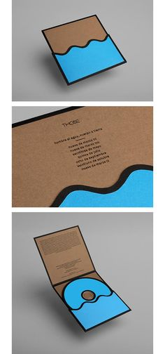 Alberto Saorin / Album art & packaging design - Hombre al Agua, Cuerpo a Tierra by Those #grafica #cd #musica #packaging