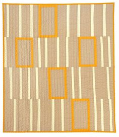modern baby quilt by barbara perrino.