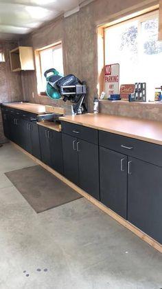 How to Build a DIY Workshop Organization – Garage Organization DIY Garage Workshop Organization, Garage Tool Storage, Garage Tools, Workshop Storage, Diy Organization, Garage Shop, Diy Garage Storage Cabinets, Workbench Organization, Basement Storage