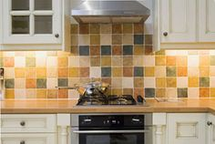 country style kitchen tile ideas - Google Search