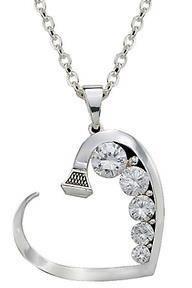 Horse shoe nail necklace