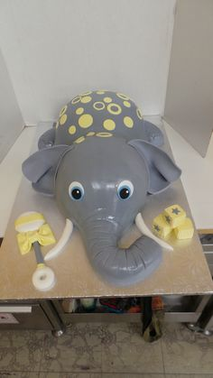 Elephant Baby Shower by Sweet Confections Cakes