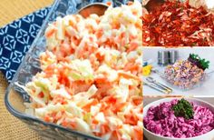 Zhubněte zdravě: 18 nejlepších receptů na chutné a zdravé saláty, která Vás dostanou zpět do formy! Low Carb Recipes, Potato Salad, Smoothies, Cabbage, Salads, Food And Drink, Health Fitness, Keto, Yummy Food