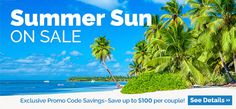 Summer Sun on Sale - https://traveloni.com/vacation-deals/summer-sun-sale/ #hawaiivacation #mexicovacation #caribbeanvacation
