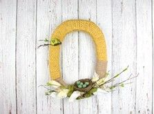 Craft Ideas : Projects : Details : birds-nest-wreath