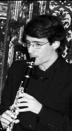 """Conciertos en Almuñécar 2012  DÚO """"GUITARNET"""": JUAN FRANCISCO ROMERO (clarinete)"""