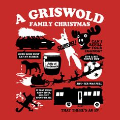 Check out this awesome 'A+Griswold+Family+Christmas+T-Shirt' design on TeePublic! http://bit.ly/Hy1ufI