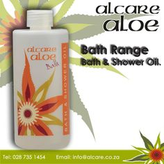 Bath & Shower Oil. A gentle and milky oil that leaves the skin moisturized and supple without feeling greasy.A remarkable product that does not leave an unsightly oily ring around the bath tub. Order online: http://on.fb.me/1fJVdeb #bath #aloe #shower