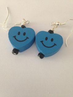 A personal favorite from my Etsy shop https://www.etsy.com/listing/243969972/blue-heart-earrings-blue-heart-earrings