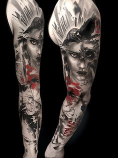 Tattoo Gallery - TrashPolka Tattoos by Volko Merschky & Simone Pfaff