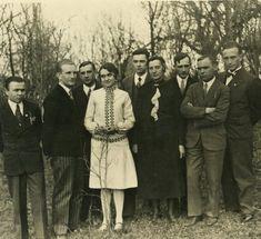 Весільне фото Романа та Наталії Шухевичів 1930 р.
