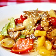 undefined..(Stir Fry Pineapple Pork)