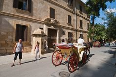 Horse and carriage ride in Majorca