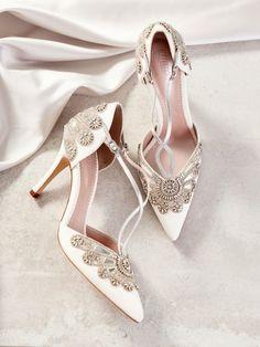e9d36c7c7  Porto  the 2019 Bridal Shoe Collection from Emmy London. Chic Vintage  BridesLuxury ...