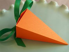 Carrot Favor Box  Perfect for Easter, Birthday Parties, Baby Showers