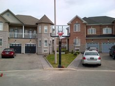 Play on top of the line basketball courts and multigame flooring with custom basketball hoop to give your organization a professional appearance at an affordable price. Basketball Goals, Toronto, Photo Galleries, Flooring, Sport, Mansions, House Styles, Gallery, Outdoor
