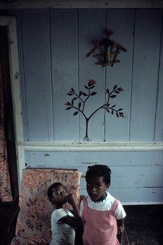 manufactoriel:  Inside a house, St George, Grenada (1979) by Alex Webb