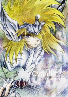 Hyoga || http://liruohai.deviantart.com/art/Cygnus-Hyoga-SAINT-SEIYA-170152752