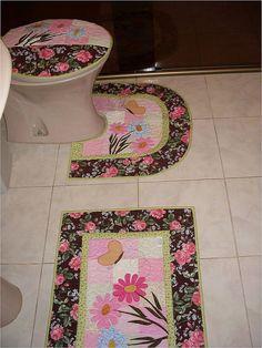 Jogo para banheiro | por Fatima's Patch