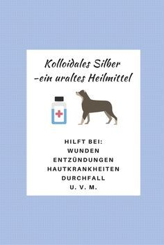 Kolloidales Silber ist ein uraltes Heilmittel, das Deinem Hund bei vielen Erkrankungen hilft. Hier erfährst Du mehr.