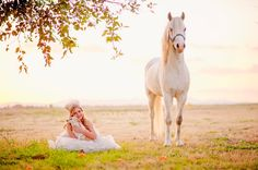 Maximus standing guard over his princess.  From Charming Pony Parties in Arizona.