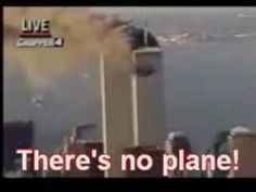 9/11 Fake: No Plane Seen in Live Footage, Added Later! (debunked: watch?...