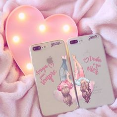 Accessorize summer for girls - just trendy girls best friend cases, bff cas Best Friend Cases, Bff Cases, Friends Phone Case, Girl Phone Cases, Cute Cases, Diy Phone Case, Cute Phone Cases, Iphone Phone Cases, Phone Covers
