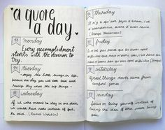I loved to find new quotes everyday! I am going to do this every week