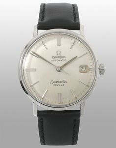 This my current daily wear watch. 1963 Omega Seamaster DeVille