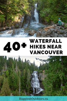 This HUGE list has over 40 waterfalls near Vancouver, BC, Canada that you can hike to. Some of them are short and easy walks (just 5 minutes), while other will take you all day. But all the waterfalls are spectacular! Go chasin' waterfalls in Vancouver! Calgary, Brandywine Falls, Lynn Canyon, Voyage Canada, Toronto, Oregon, Canadian Travel, Canadian Rockies, Fraser Valley