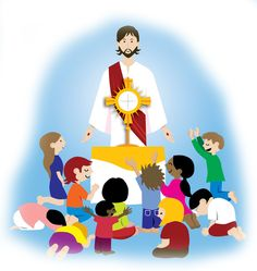 Adoration for Children :: Catholic Community of St. Luke the Evang... 5 reasons differences in children/families who participate in adoration
