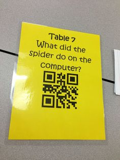 QR Codes and Library Orientation
