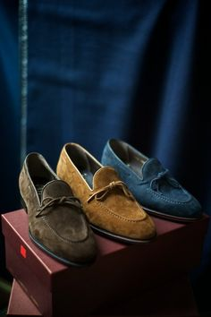 The Uetam Loafer - Three Ways Carmina in London The Armoury Trunk Show London