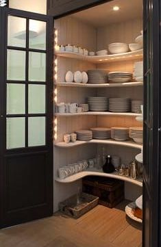 Built Kitchen Pantry Design Ideas – Page 23 – Home Decor Ideas Küchen Design, House Design, Design Case, Design Ideas, Light Design, Door Design, Layout Design, Sweet Home, Cuisines Design