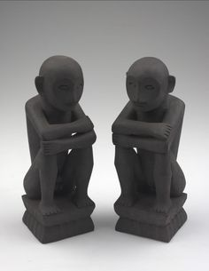 Male and Female Bulul, Ifugao, 20th century, American Museum of Natural History.