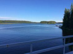 Vielä sinisempi hetki Isojärvellä (Ahlainen, Merikarvia...)