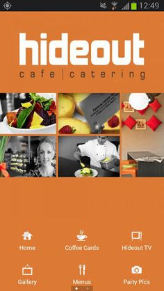 Welcome to the mobile App for Hideout Cafe Wodonga!<br>View our current menus, order gift vouchers, scan and redeem coffee rewards, or simply keep in touch with our news and special offers. This app is your virtual, fun and convenient connection to Hideout Cafe.<p>Use this app to:<br>- View dine-in menu<br>- View catering menu<br>- View current dishes are in our display cabinets<br>- Scan your coffee purchases and redeem rewards<br>- Keep an eye on news and special offers<br>- Call us, Find…