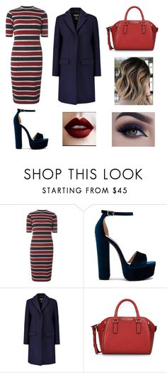 """""""Baby It's Cold Outside #2"""" by briannadouglas0018 ❤ liked on Polyvore featuring Dorothy Perkins, Steve Madden, MSGM and Armani Jeans"""