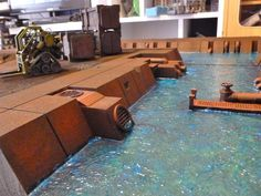 Industrial River City Table - Upgraded - BLUEFORGE TERRAIN