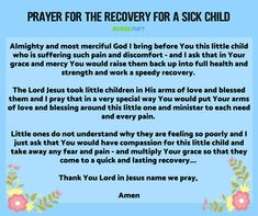 8 miracle prayers for a sick child - nursebuff Healthy Meals For Two, Super Healthy Recipes, Healthy Foods To Eat, Health Eating, Health Snacks, Prayers For Sick Child, Mantra, Positive Quotes For Life Happiness, Miracle Prayer