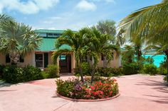 Emerald Shores Estate: Main House Exterior on Chalk Sound Providenciales, Turks & Caicos